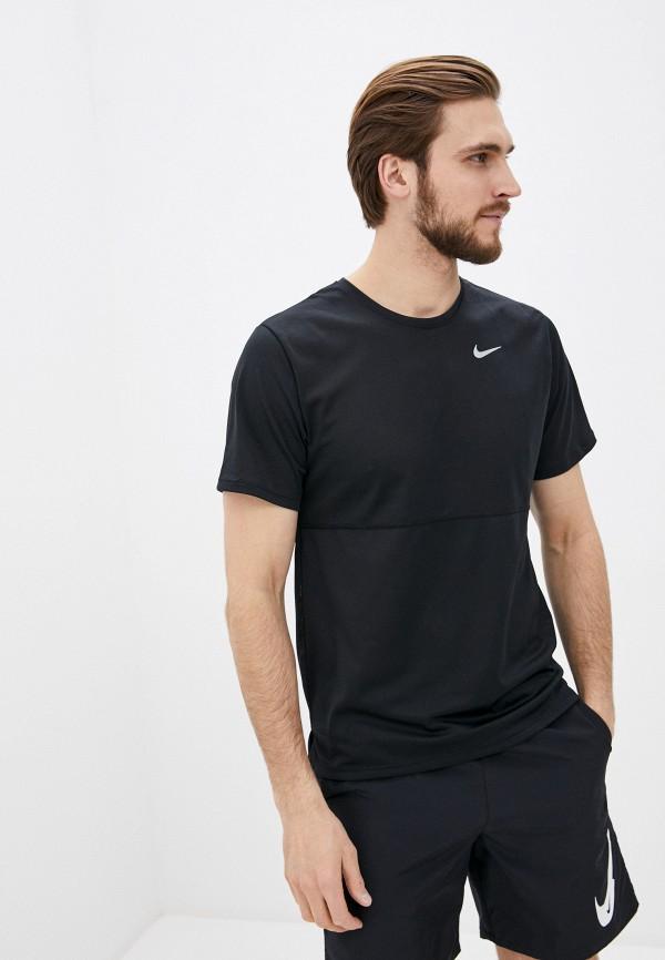 мужская футболка nike, черная