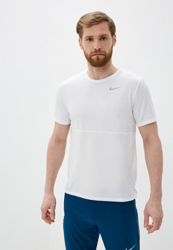 мужская футболка nike, белая