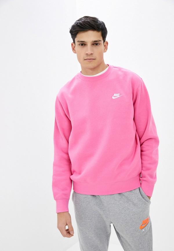 мужской свитшот nike, розовый
