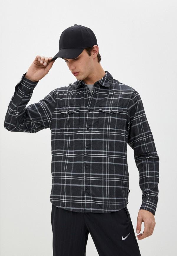 мужская рубашка nike, серая