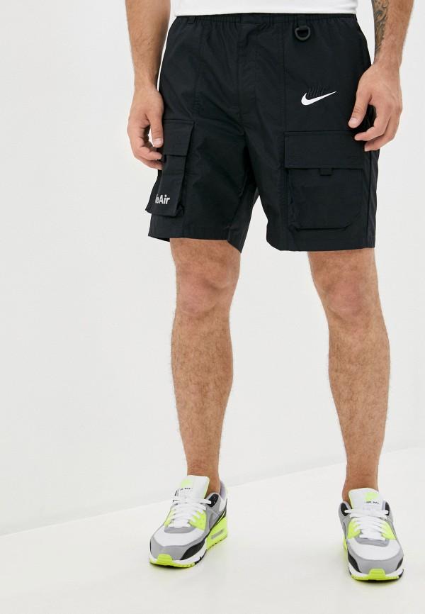 мужские шорты nike, черные