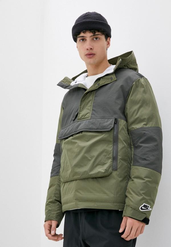мужская куртка nike, хаки