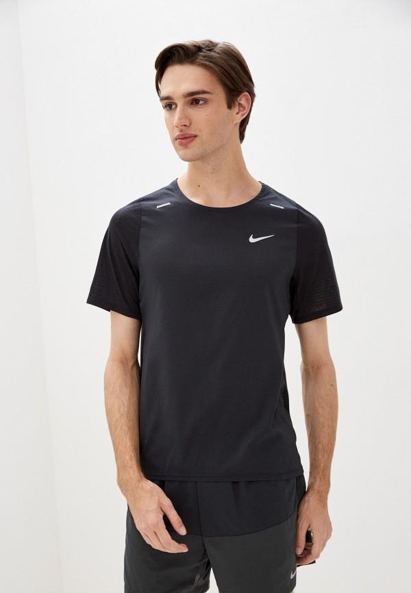 мужская спортивные футболка nike, черная