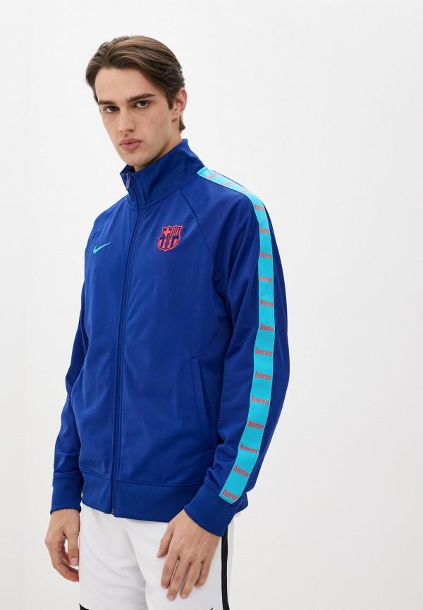 мужская олимпийка nike, синяя