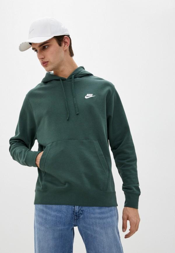 мужские худи nike, зеленые