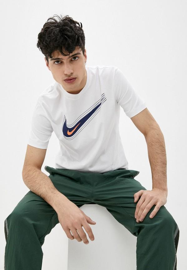 Футболка Nike белого цвета