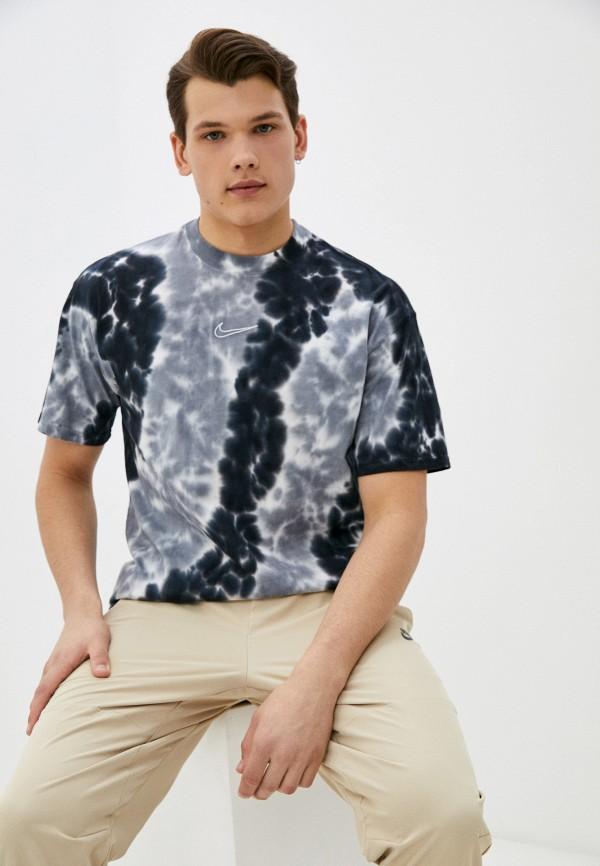 мужская спортивные футболка nike, разноцветная