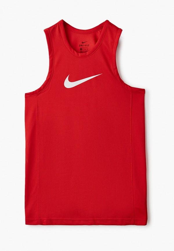 Майка спортивная Nike M NK DF TOP SL CRSSOVER. Цвет: красный