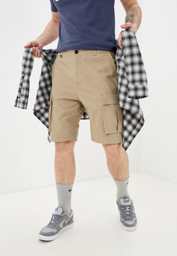 мужские спортивные шорты nike, бежевые