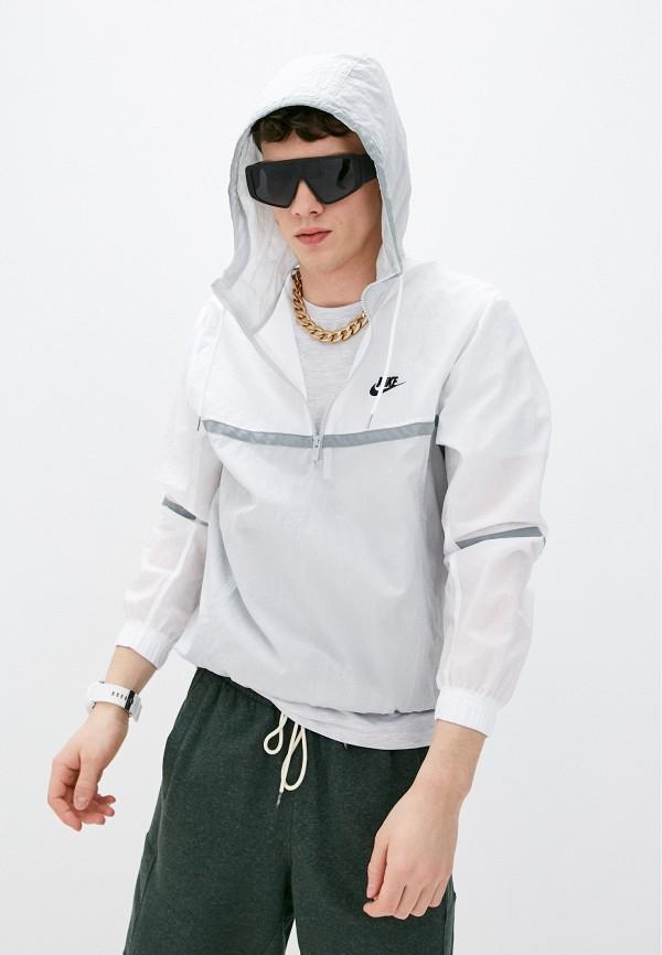 Куртка Nike белого цвета