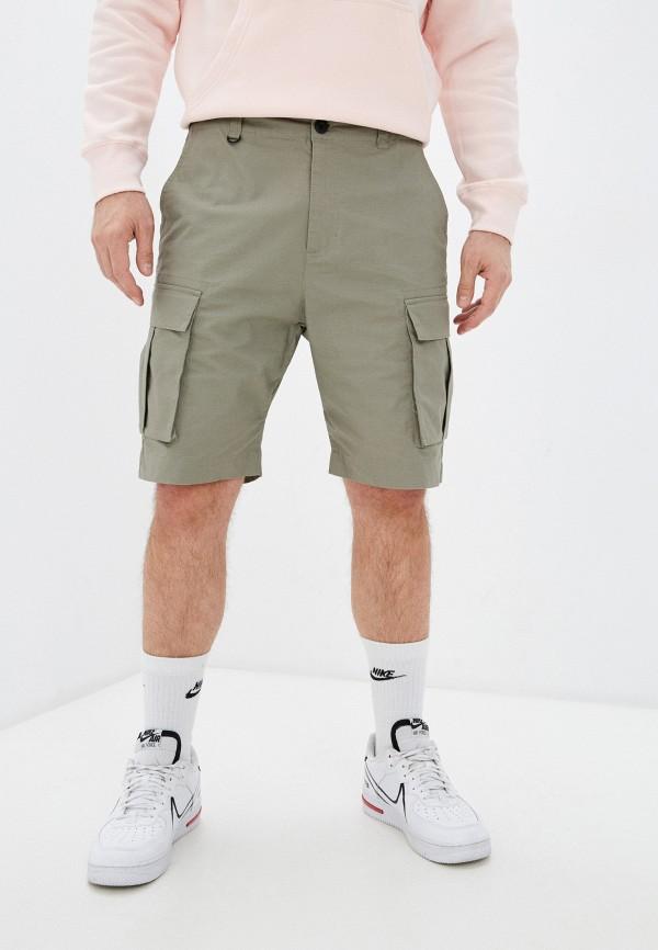 мужские повседневные шорты nike, хаки