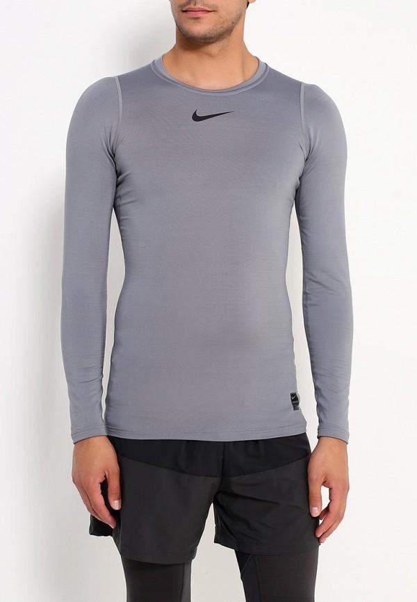 Купить Лонгслив компрессионный Nike, M NP WM TOP LS COMP, NI464EMUGT16, серый, Весна-лето 2018