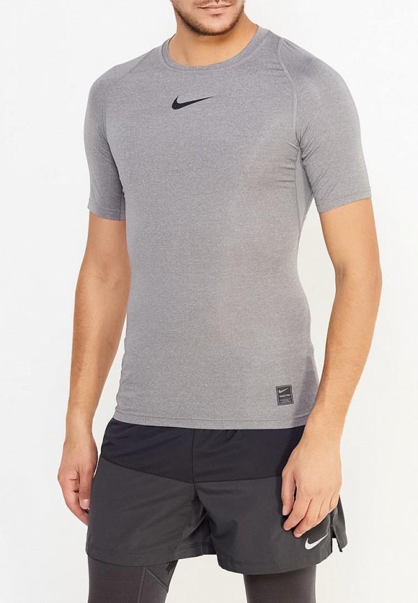 Футболка компрессионная Nike Nike NI464EMUGU47 2xu fliserma1982a компрессионная мужская
