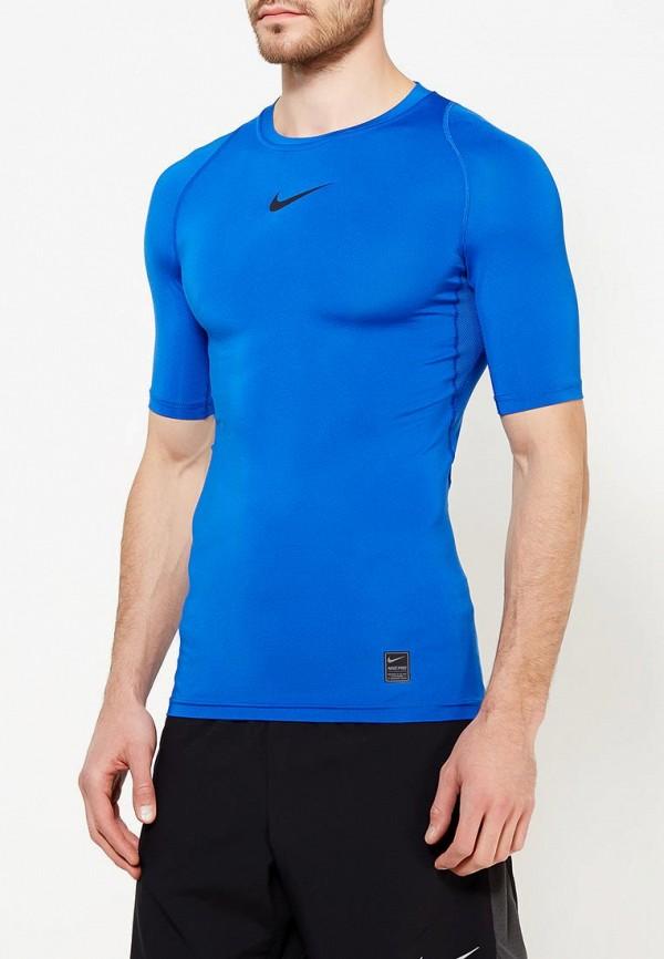 Футболка компрессионная Nike Nike NI464EMUGU50 2xu fliserma1982a компрессионная мужская