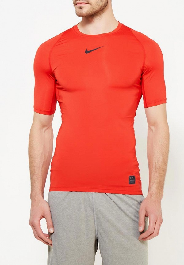 Футболка компрессионная Nike Nike NI464EMUGU51 2xu fliserma1982a компрессионная мужская