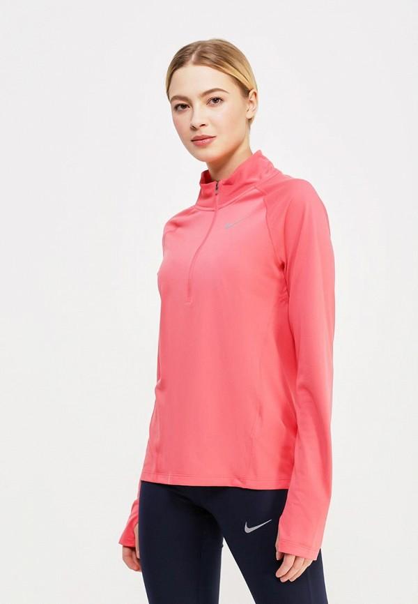 Купить Лонгслив спортивный Nike, W NK TOP CORE HZ MID, NI464EWAADU5, коралловый, Весна-лето 2018