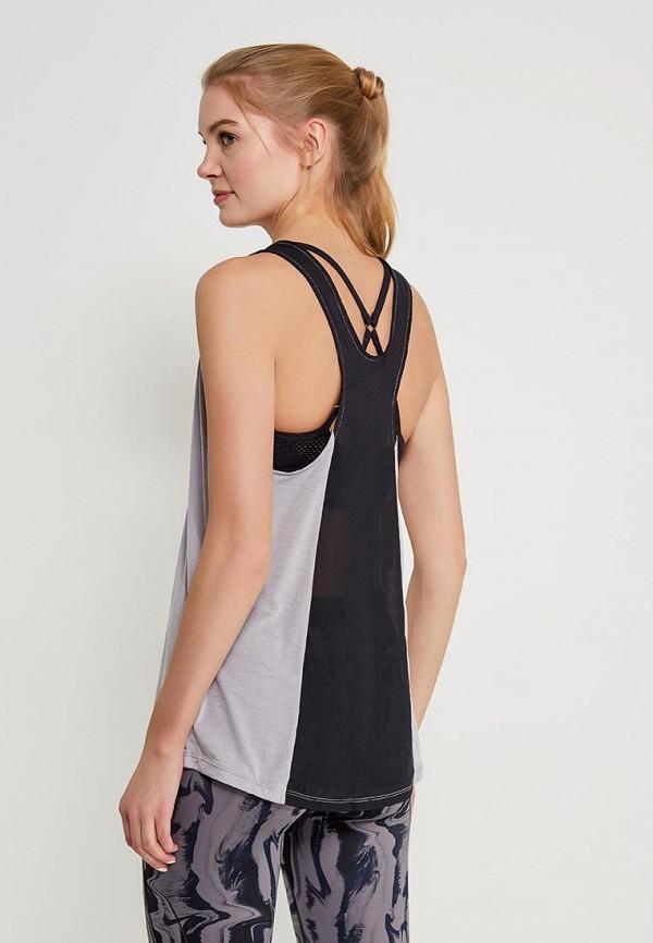 Фото 3 - Майку спортивная Nike серого цвета