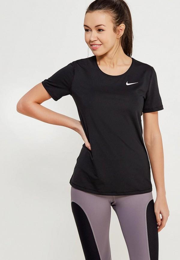 Фото - Футболку спортивная Nike черного цвета