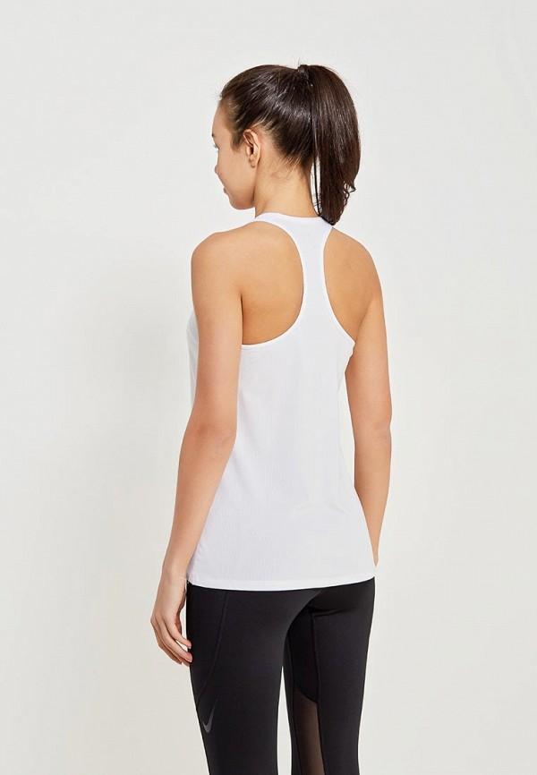 Фото 3 - Майку спортивная Nike белого цвета