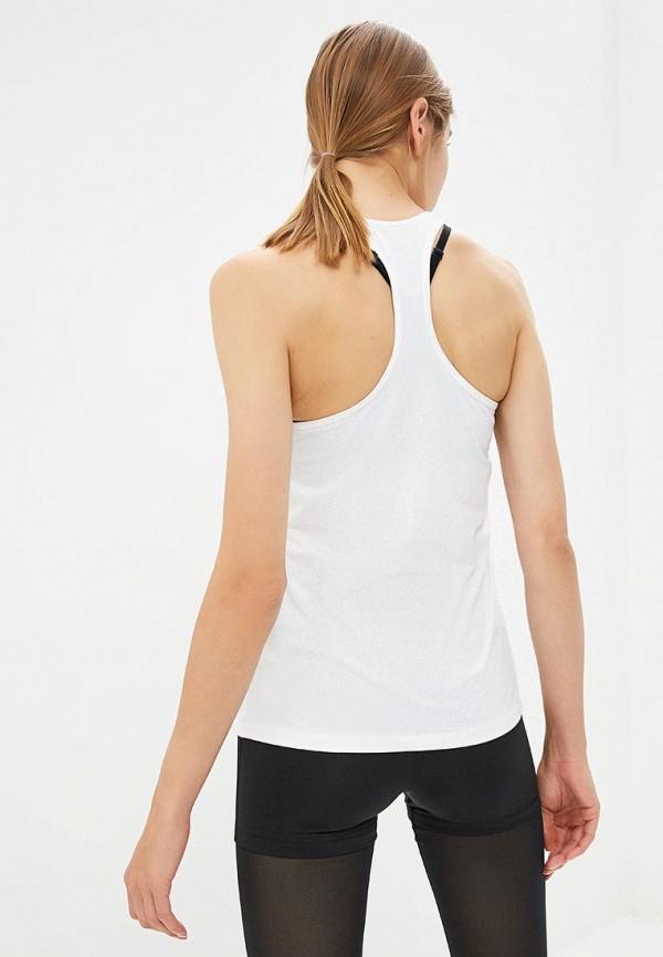 Фото 6 - Майку спортивная Nike белого цвета
