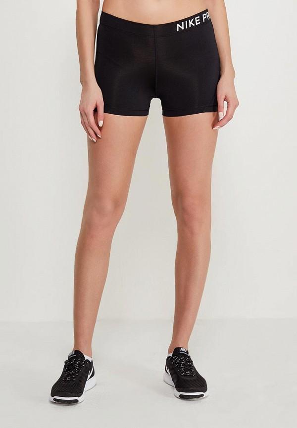 Купить Шорты спортивные Nike, Nike Pro Women's 3 Shorts, ni464ewaaeq7, черный, Осень-зима 2018/2019