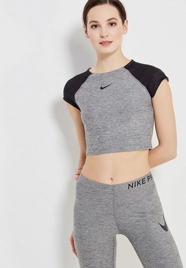 Купить Топ спортивный Nike, W NP TOP, NI464EWAAET4, разноцветный, Весна-лето 2018