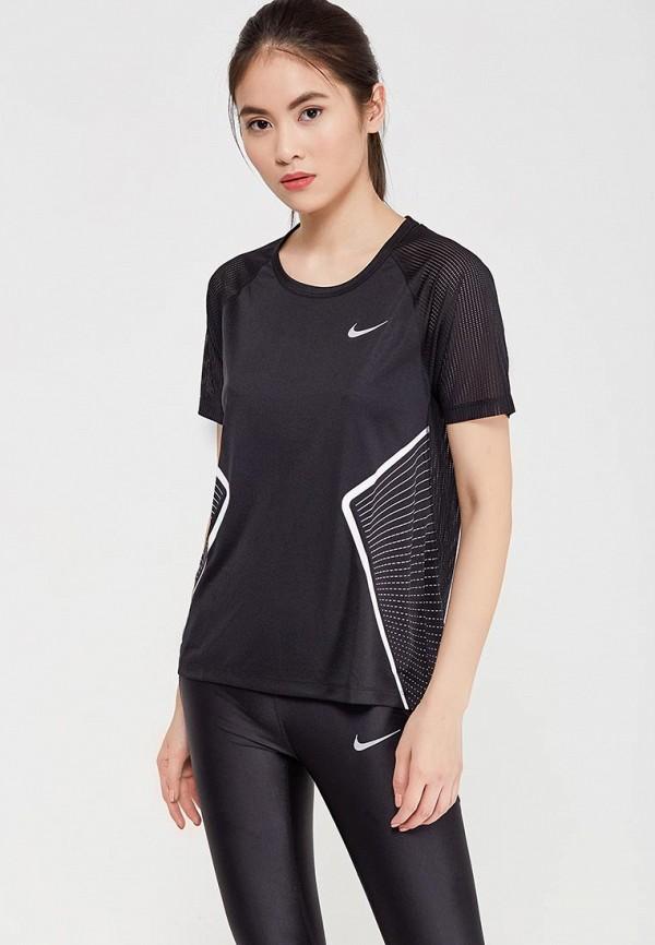 Футболка спортивная Nike Nike NI464EWAAEV2 бутылка гантеля спортивная irontrue цвет черный 2 2 л