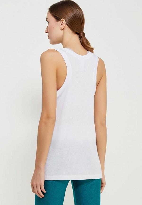 Фото 3 - Майку Nike белого цвета
