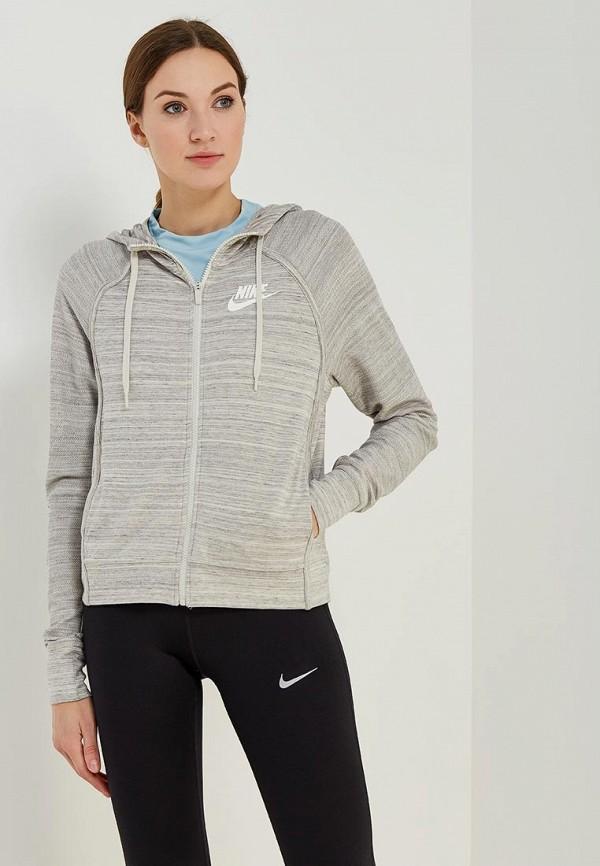 Купить Толстовка Nike, W NSW AV15 JKT HD KNT, NI464EWAAFE5, серый, Весна-лето 2018