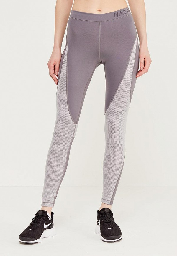 Тайтсы Nike, Серый, Women's Pro Hypercool Tights