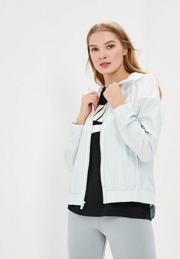 Купить Ветровка Nike, Women's Nike Sportswear Windrunner Jacket, ni464ewbbke3, зеленый, Весна-лето 2018
