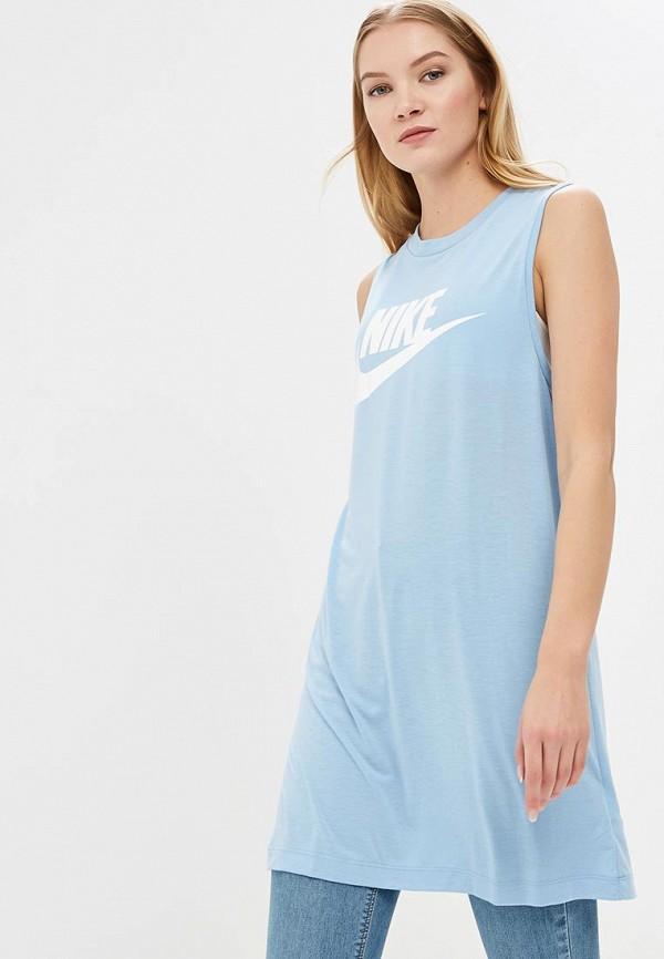 Майка Nike Nike NI464EWBBKI8 тайтсы nike nike ni464embwhq2