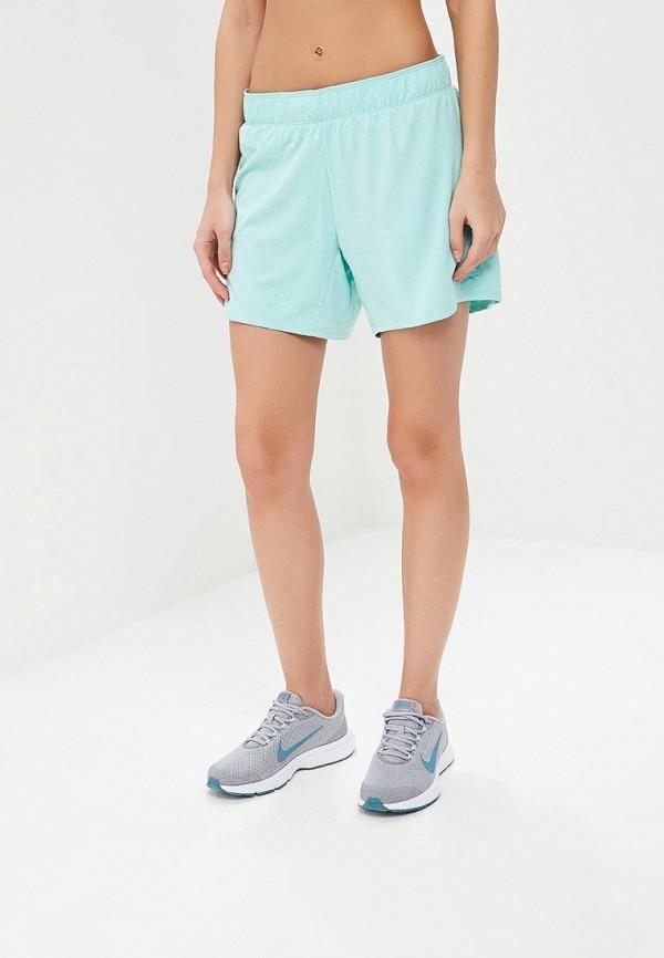 Купить Шорты спортивные Nike, W NK DRY SHORT ATTK TR5 GX JDI, ni464ewbbkz7, бирюзовый, Весна-лето 2018
