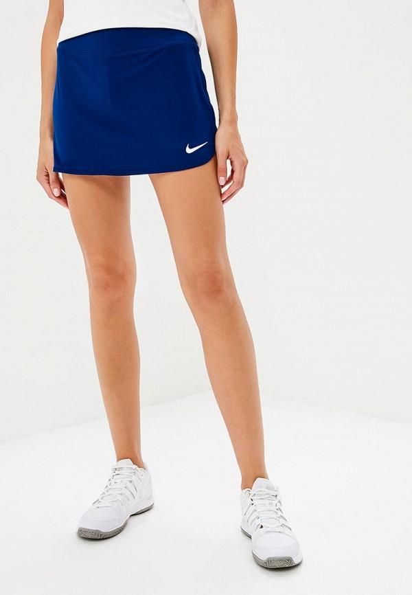 Купить Юбка-шорты Nike, W NKCT SKIRT PURE, NI464EWBWIV2, синий, Осень-зима 2018/2019