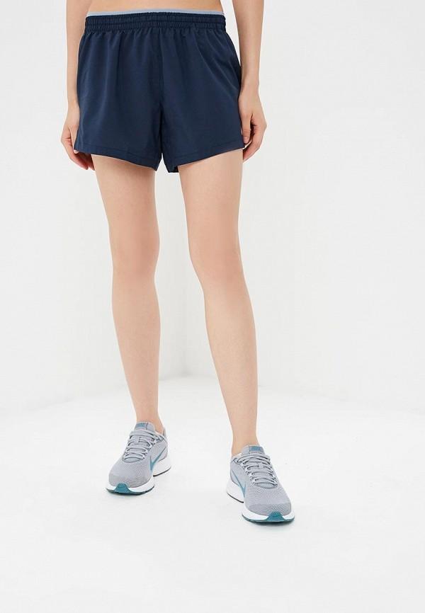 Купить Шорты спортивные Nike, W NK ELEVATE SHORT 5IN, NI464EWBWJD2, синий, Осень-зима 2018/2019