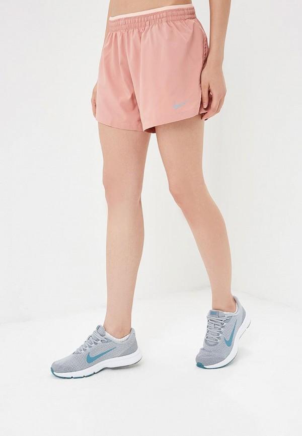 Купить Шорты спортивные Nike, W NK ELEVATE SHORT 5IN, NI464EWBWJD3, розовый, Осень-зима 2018/2019