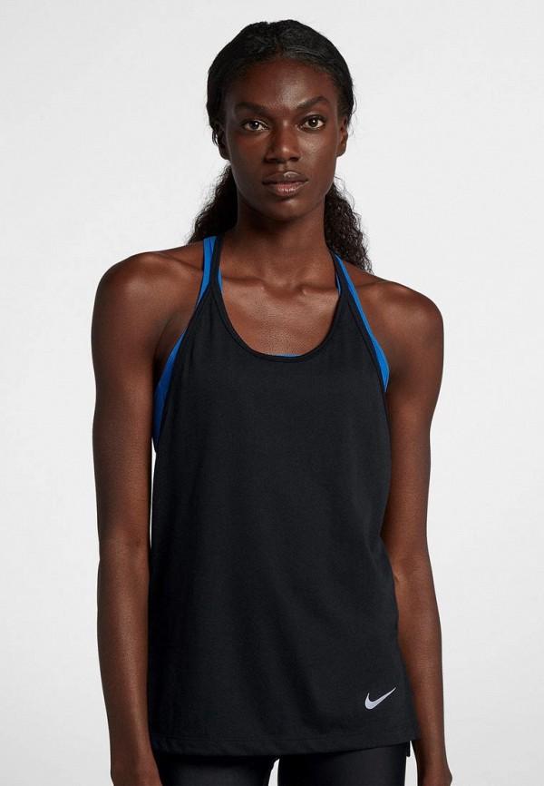 Купить Майка спортивная Nike, Nike Tailwind Women's Running Tank, ni464ewbwjj0, черный, Осень-зима 2018/2019