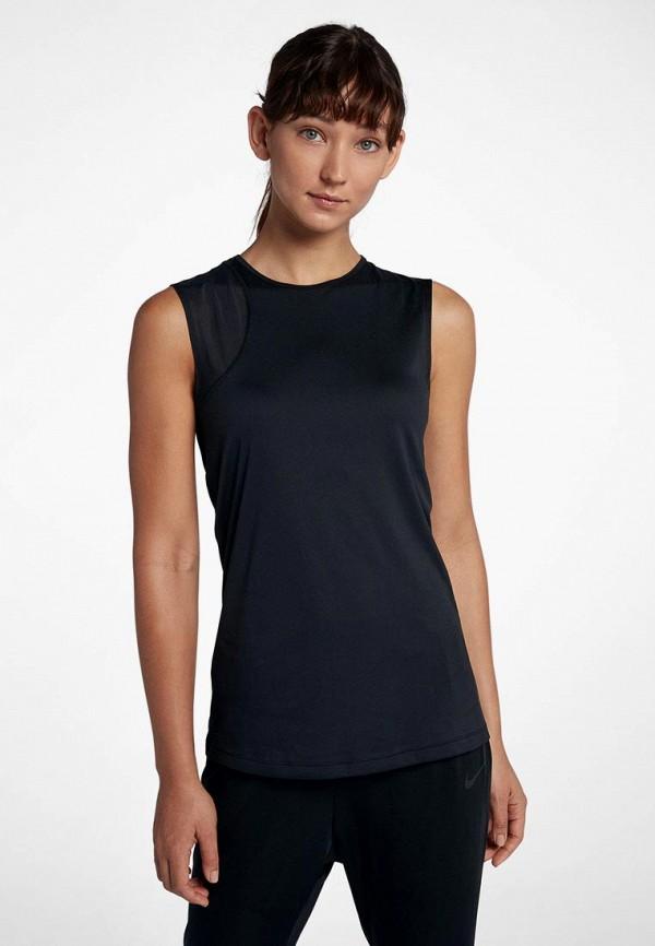 Купить Майка спортивная Nike, Nike Dry Women's Slim Fit Training Tank, ni464ewbwjk9, черный, Осень-зима 2018/2019