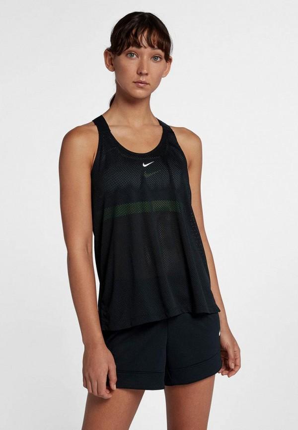 Купить Майка спортивная Nike, Nike Dry Women's Logo Training Tank, ni464ewbwjn2, черный, Осень-зима 2018/2019