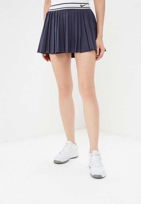 Купить Юбка-шорты Nike, W NKCT VICTORY SKIRT, NI464EWBWJW3, синий, Осень-зима 2018/2019
