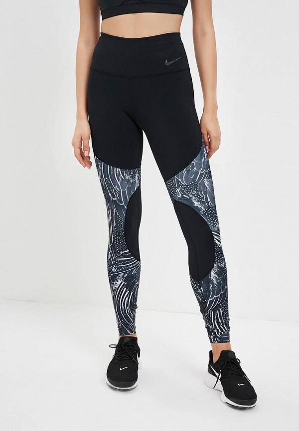Тайтсы Nike Nike NI464EWBWJX0 тайтсы nike тайтсы w nk pwr lgnd tght brush print