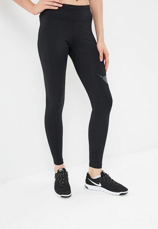 Купить Тайтсы Nike, W NK ESSNTL TGHT HBR, NI464EWBWKN8, черный, Осень-зима 2018/2019