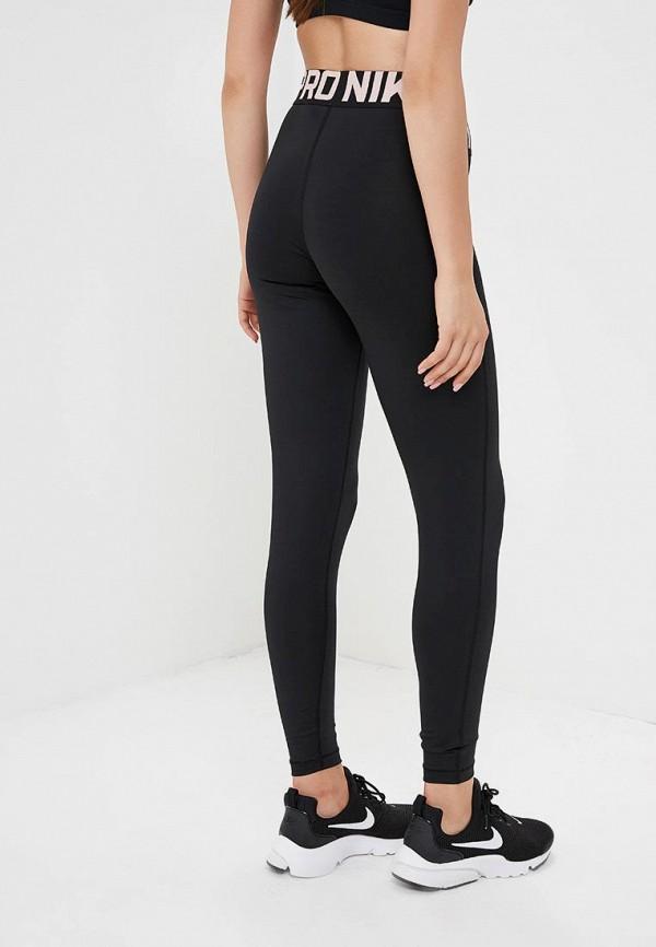 Фото 3 - Тайтсы Nike черного цвета