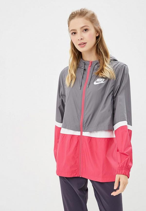 Купить Ветровка Nike, Sportswear, ni464ewbwkq6, разноцветный, Осень-зима 2018/2019