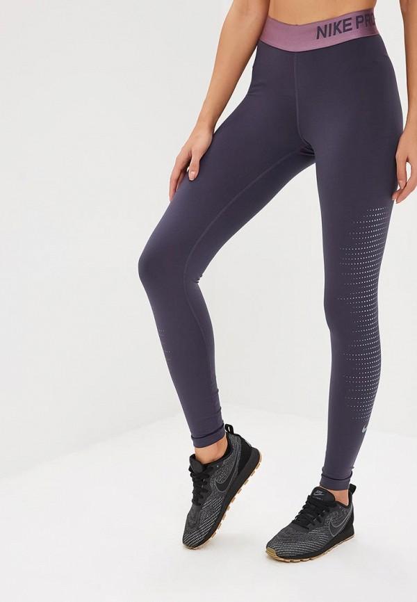 Тайтсы Nike Nike NI464EWCMLF6 тайтсы nike тайтсы w nk pwr lgnd tght brush print