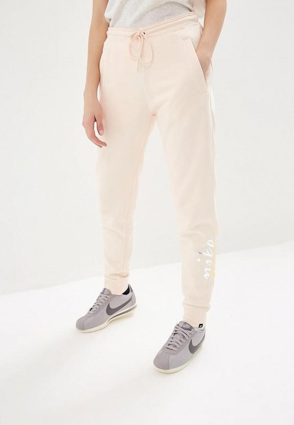 женские спортивные спортивные брюки nike, розовые