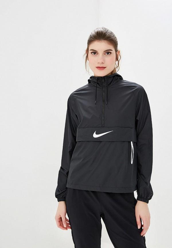 Купить Ветровка Nike, W NSW SWSH JKT PACKABLE, ni464ewcmmi3, черный, Осень-зима 2018/2019