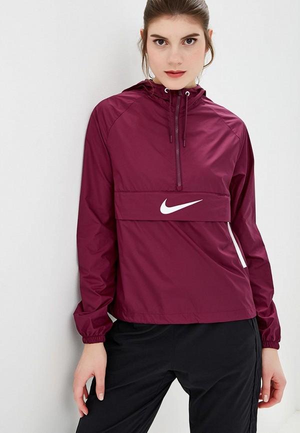 Купить Ветровка Nike, W NSW SWSH JKT PACKABLE, ni464ewcmmi5, фиолетовый, Осень-зима 2018/2019