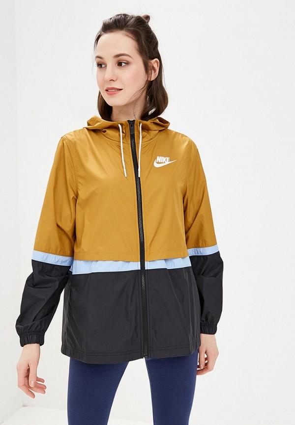 03d6f772 Купить Ветровка Nike AJ2982-790 арт. NI464EWDNMC2 коричневого цвета ...