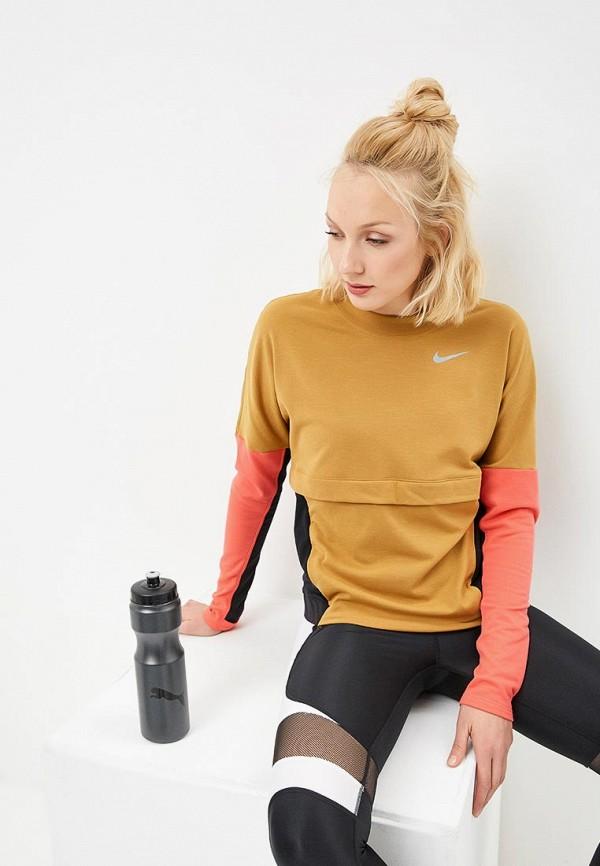Купить Свитшот Nike, ni464ewdnmj6, коричневый, Весна-лето 2019